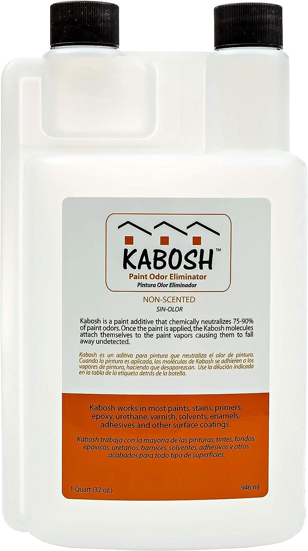 kabosh 340 – 32 pintura eliminador de olores, 900 ml: Amazon ...