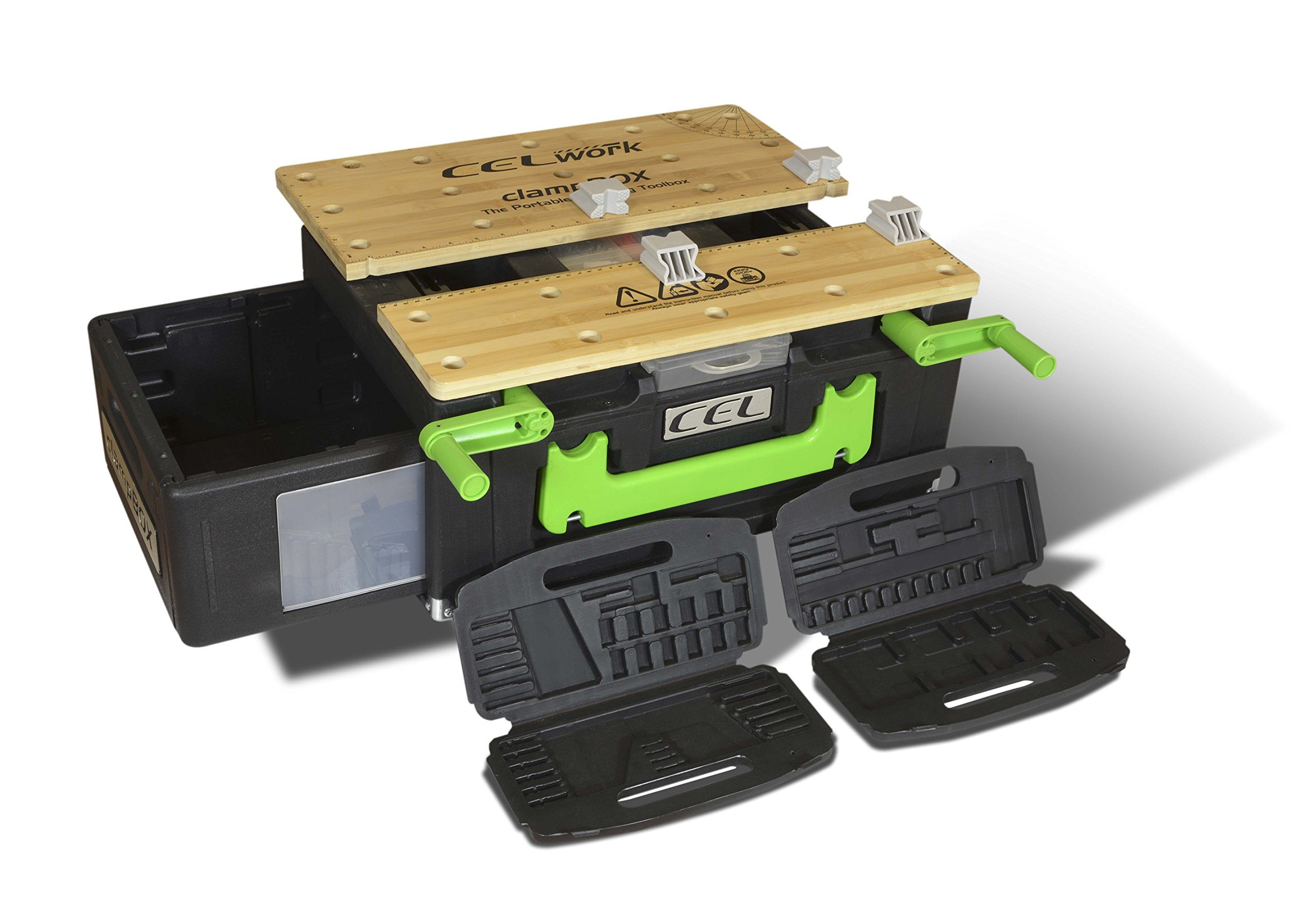 CEL WQ1 Work Quattro All-In-One Clamp and Toolbox