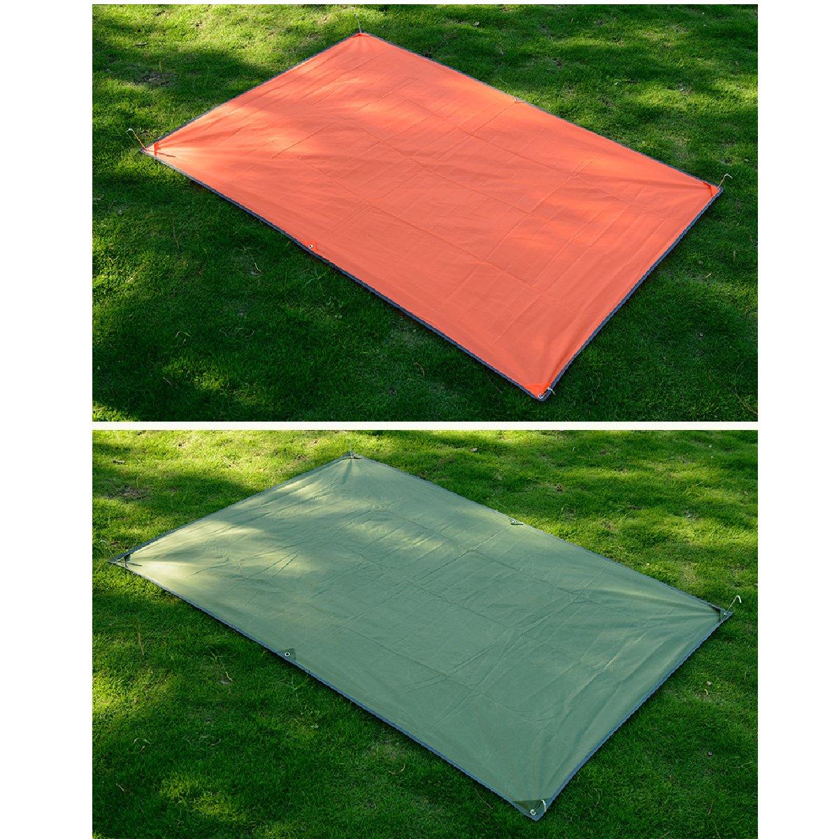 Azarxis Wasserdichte Zeltunterlage Vorzeltteppich Picknickdecke Stranddecke Camping Matte wasserdurchl/ässige und Wasserfeste f/ür Markisen Camping