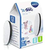 FILTROS BRITA MICRODISC – Pack 3 filtros para el agua, Discos filtrantes compatibles con botellas BRITA que reducen la…