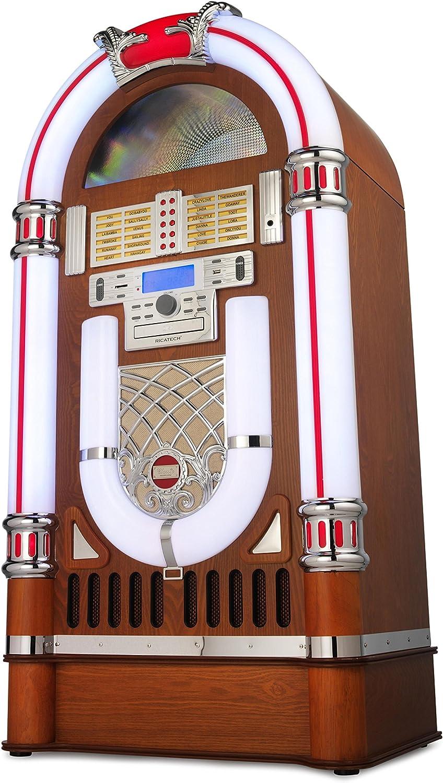 Ricatech RR2100 Jukebox de LED clásica: Amazon.es: Electrónica