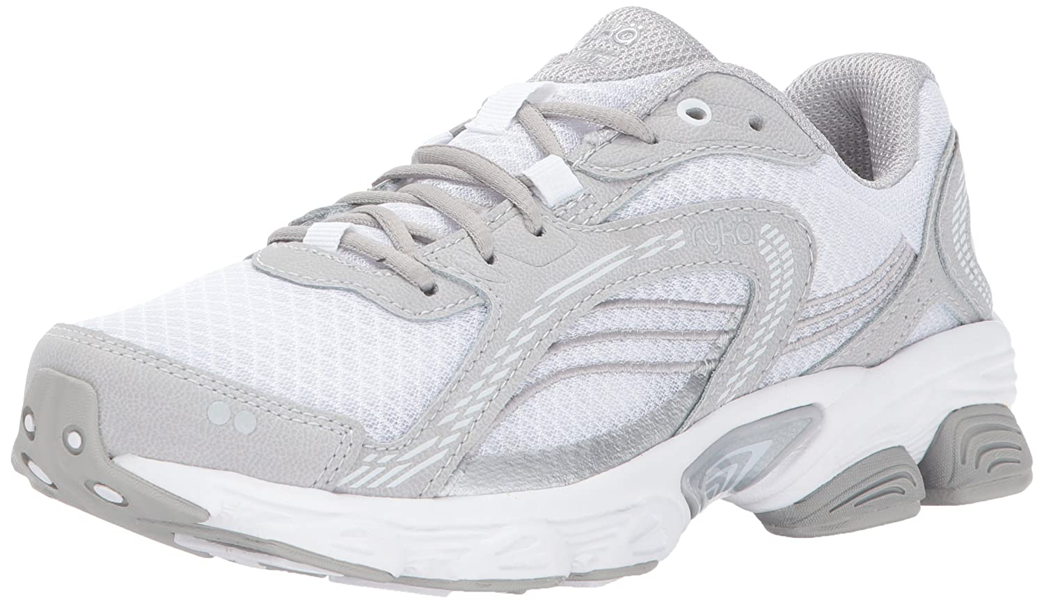 Ryka Women's Ultimate Running Shoe B01NC2JEE3 5.5 M US|White/Grey