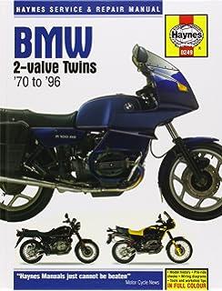 Haynes BMW Twins Motorcycles Owners Workshop Manual/1970 1996