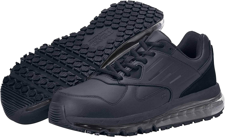 Amazon.com | Shoes for Crews Geo, Men's Slip Resistant Food Service Work  Sneaker | Shoes