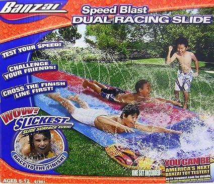 Banzai Aqua Blast Dual Racing Slide