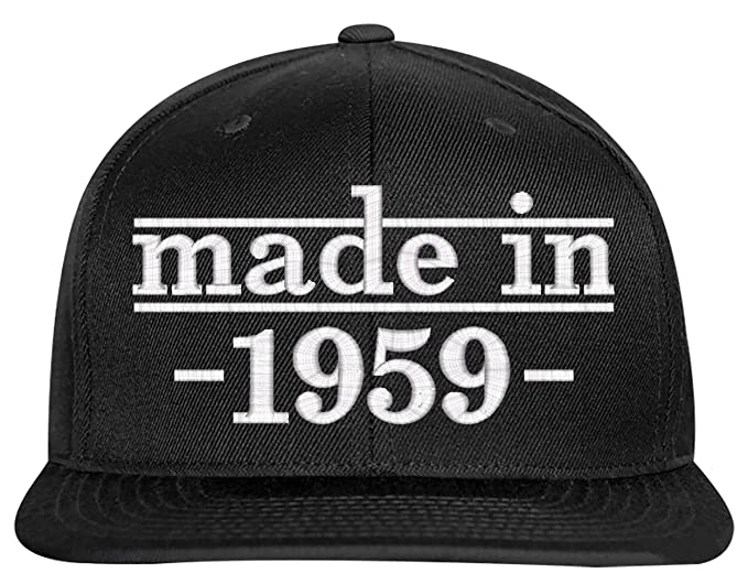 SNBCK 1959 60th Birthday Gift Made In Snapback Hat EM