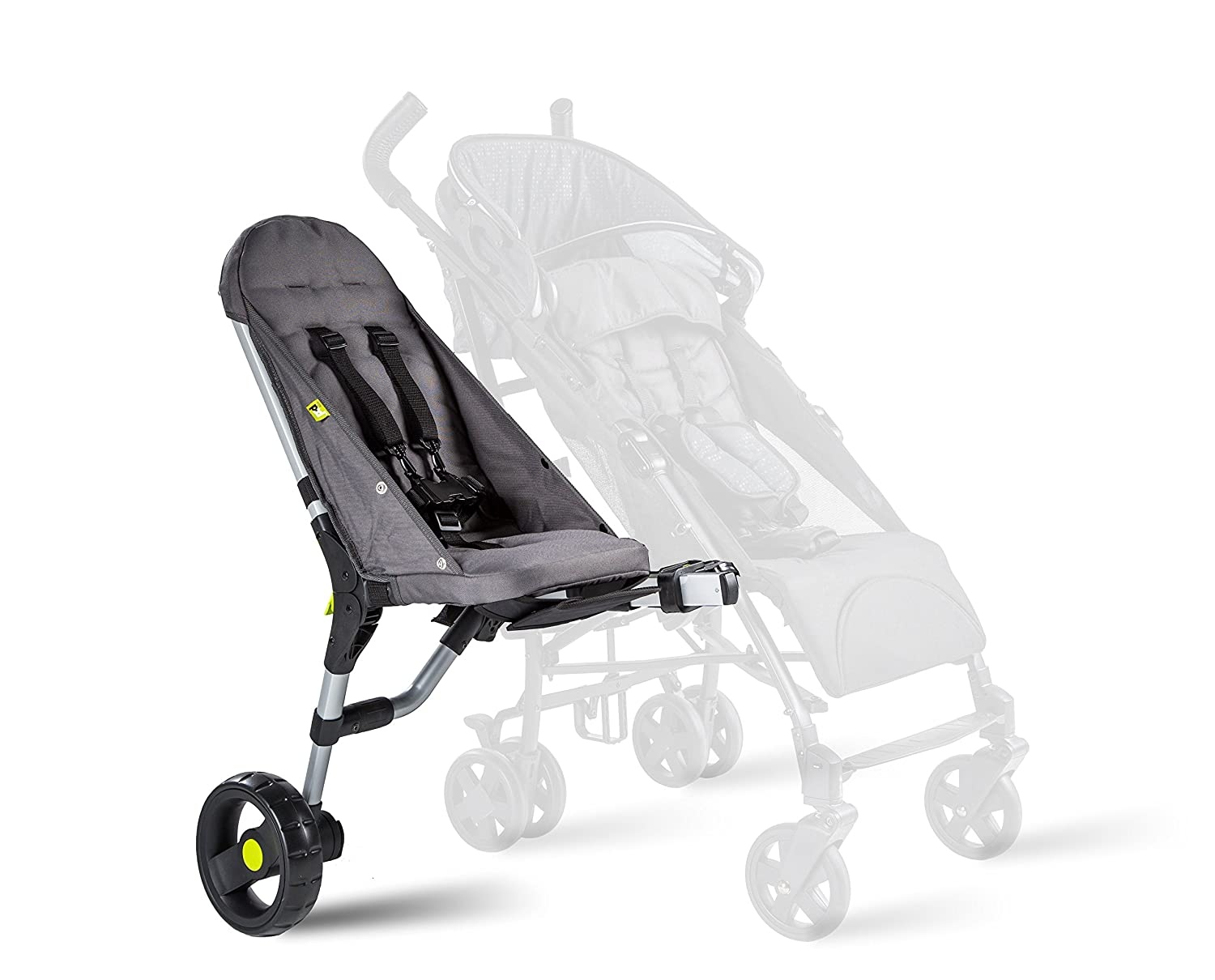 Buggypod Lite - side seat for pushchairs, anthracite 1000 0012