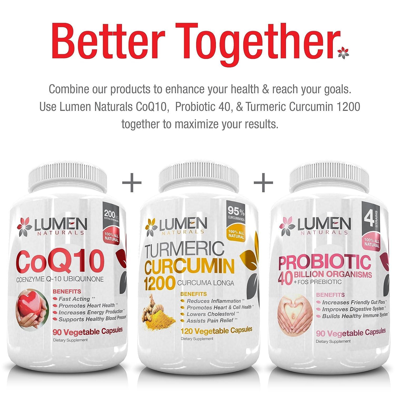 ... de CoQ10 Ubiquinona a la hora de proporcionar salud al corazón, energía celular y resistencia para luchar contra el cansancio - 90 coenzyme cápsulas: ...