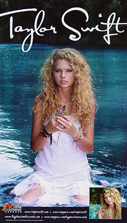 787b575f2eb Taylor Swift - Poster - New - Rare - Tim McGraw - The Outside - Mary s