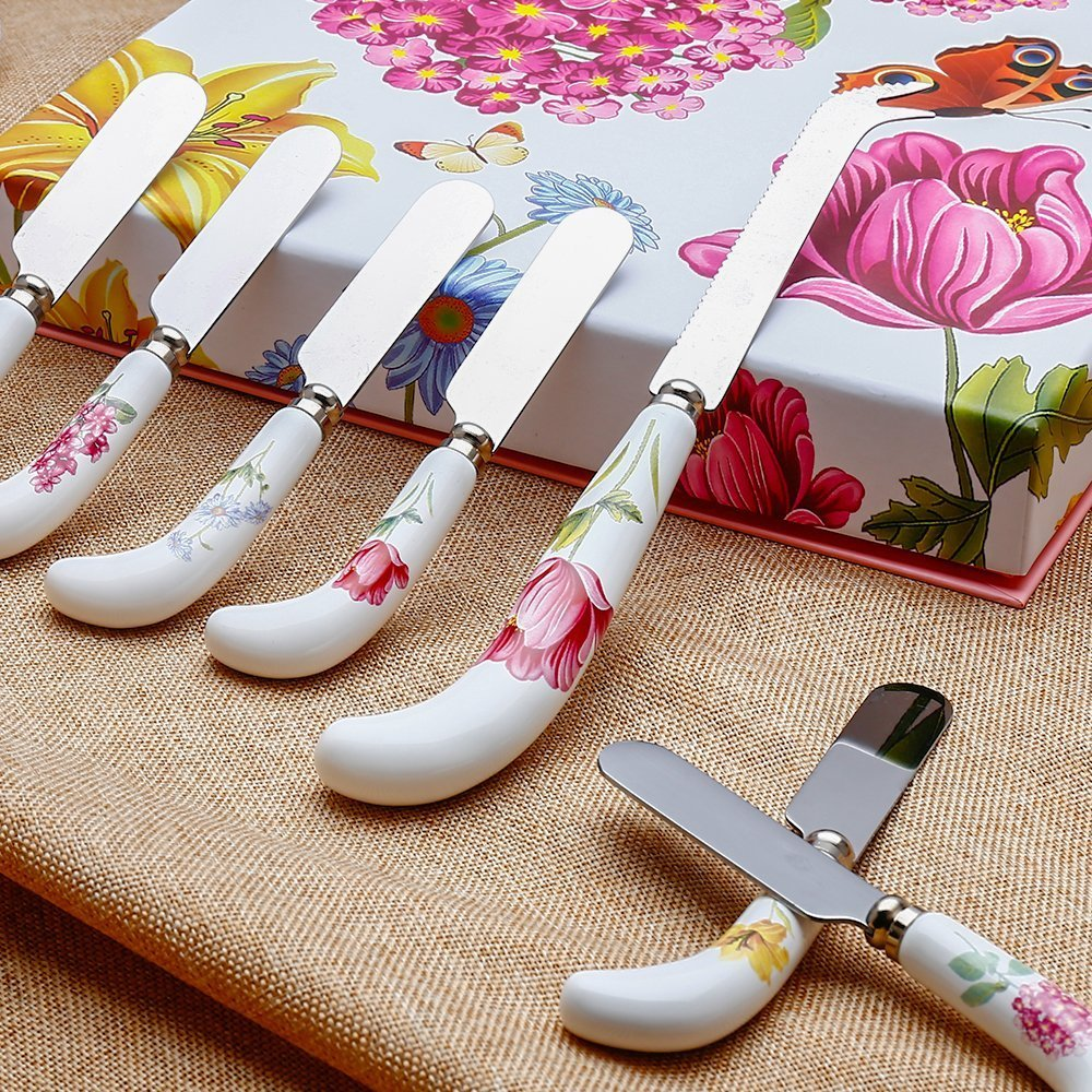 7 Piece Cheese Knife Spreader Set $2.99 SHIPPED!