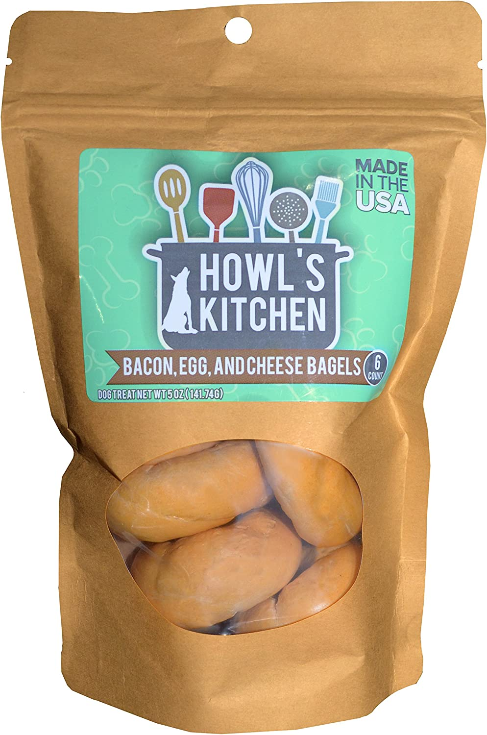 Howl's Kitchen Bagels Bacon