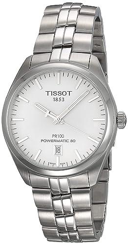 Tissot t1014071103100 T de Classic pr 100 Power Matic 80 Automatic Reloj de Hombre: Amazon.es: Relojes