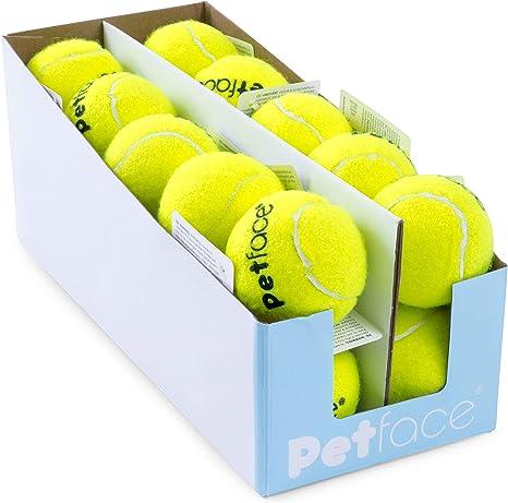 Petface Pelota de Tenis para Perro, 15 cm (Pack de 20): Amazon.es ...