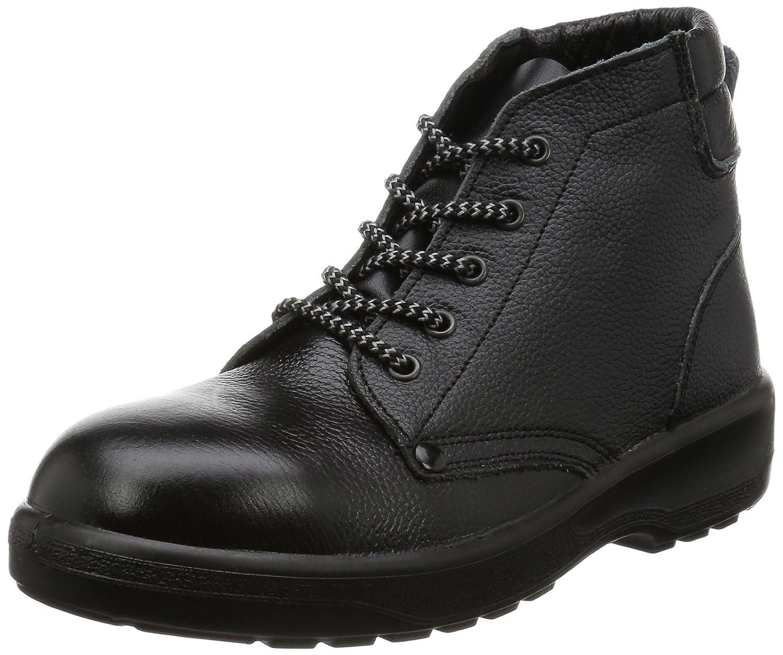 [エンゼル] ポリウレタン2層底安全靴 中編靴 AG212 AGシリーズ 6B026 B004U09O6W ブラック 26.0 cm