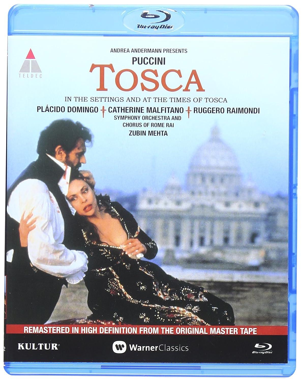 Amazon.com: Tosca: Live in Rome [Blu-ray] starring Placido Domingo ...