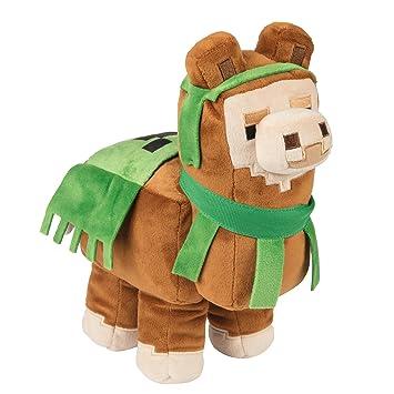 JINX 8153 Minecraft Llama - Felpa, Color marrón y Verde