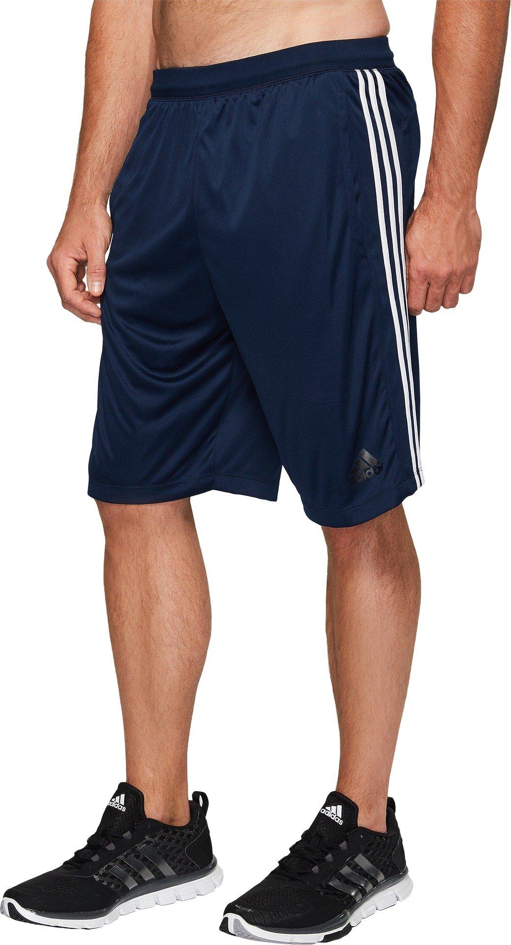 05facbb637b adidas Men's Big & Tall Designed-2-Move 3-Stripes Shorts Collegiate  Navy/Collegiate Navy/White LT 10