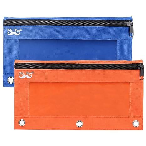 Amazon.com: Sr. Bolígrafo – estuche para lápices, azul y ...