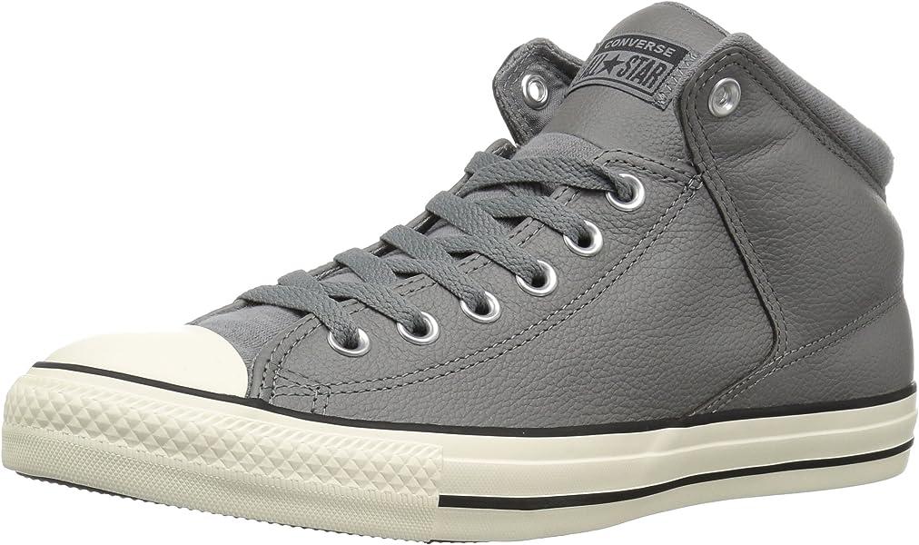 Converse Men s CTAS HIGH Street HI Mason Black EGRET Sneaker c338dd636