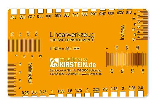 Kirstein Linealwerkzeug für Saiteninstrumente (geeignet für ...