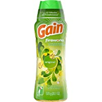 Gain Fireworks In-Wash Scent Booster Beads, Original, 570 g - Packaging May Vary