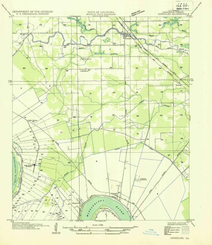 Amazon.com: YellowMaps Gonzales LA topo map, 1:31680 Scale ... on windcrest map, west baton rouge parish map, barataria map, franklinton map, norman map, mondragon map, evangeline map, gorda map, leesville map, zapata map, east feliciana map, amador map, ochiltree map, fifth ward map, grimaldi map, arevalo map, chualar map, obregon map, lajitas map,