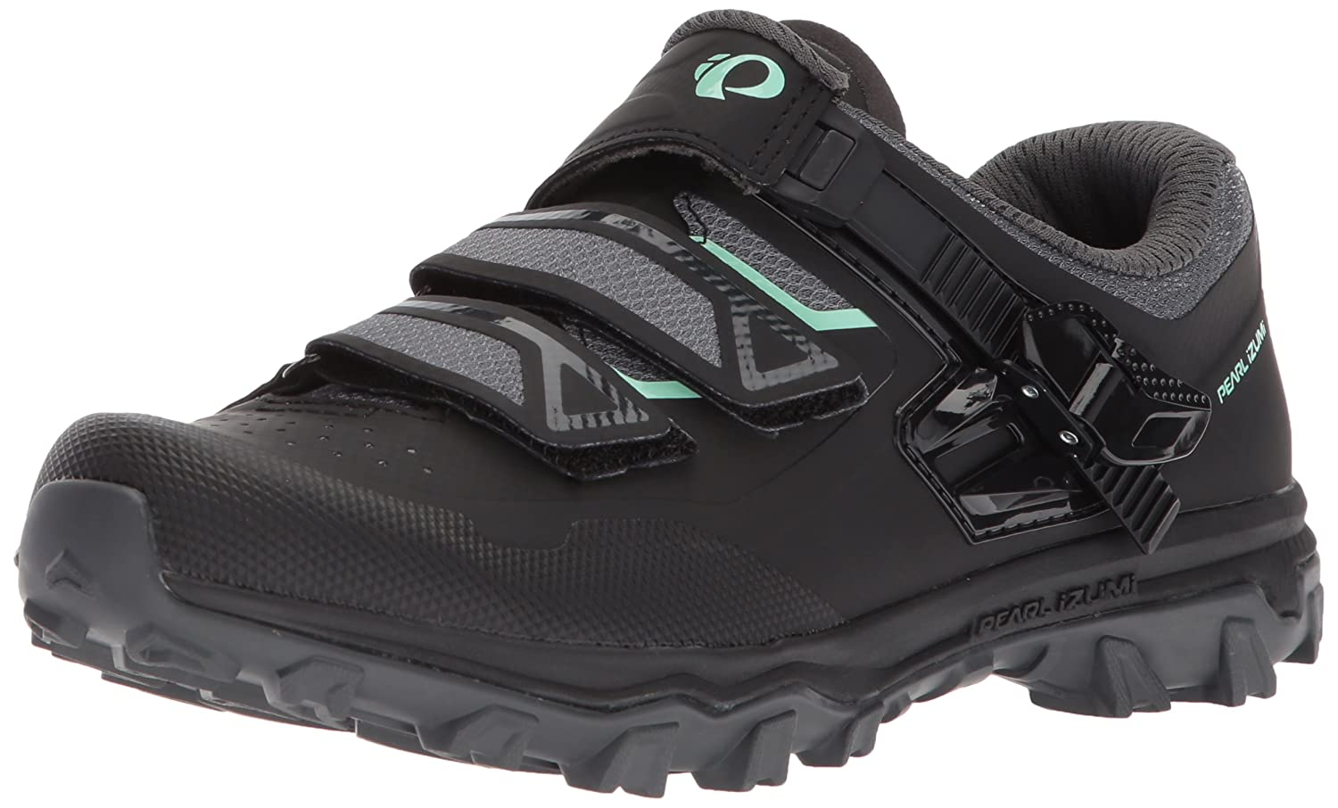 Pearl iZUMi Women's W X-Alp Summit Cycling Shoe B072FVKCW6 43.0 M EU (10.8 US)|Black/Black