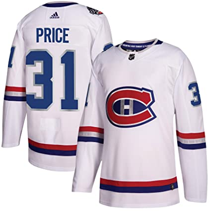 bba1e9ce adidas Montreal Canadiens Carey Price 100th Year Authentic Pro Jersey White  (46/S)
