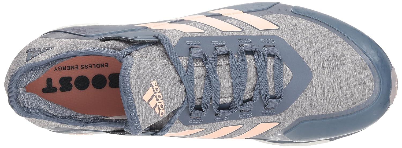 adidas Originals Women's Fabela 6 X Hockey Shoe B077X4QVDQ 6 Fabela B(M) US|Raw Steel/Clear Orange/Grey e12fee