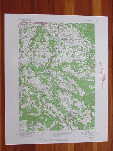 Amazon Com Sandy Oregon 1962 Original Vintage Usgs Topo Map
