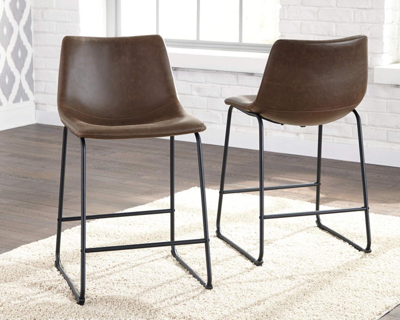 Amazon.com: Ashley Furniture Diseño de firma- Taburete de ...