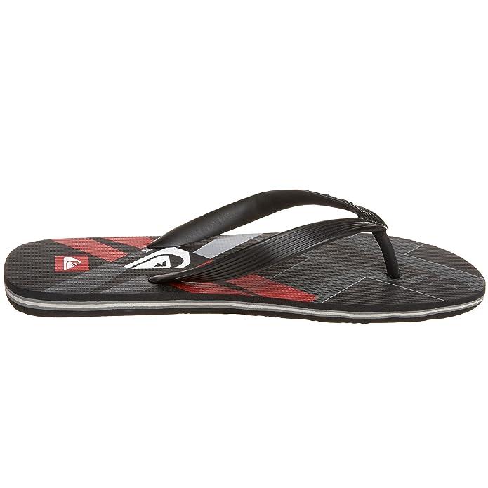 les sandales quikArgent de molokai quikArgent sandales  art noire et rouge, m, chaussures ce6469