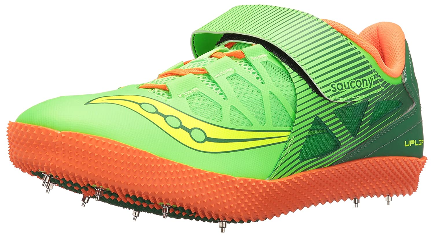 Saucony Men's Uplift HJ2 Track Shoe B01DAYH6QS 11 D(M) US|Citron/Vizi Orange