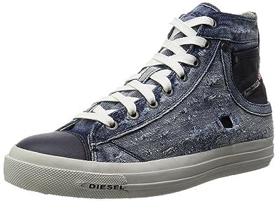 9255e6852f3 Amazon.com: Diesel Exposure-I Y00023 P0839 T6067 Shoes Denim Indigo ...
