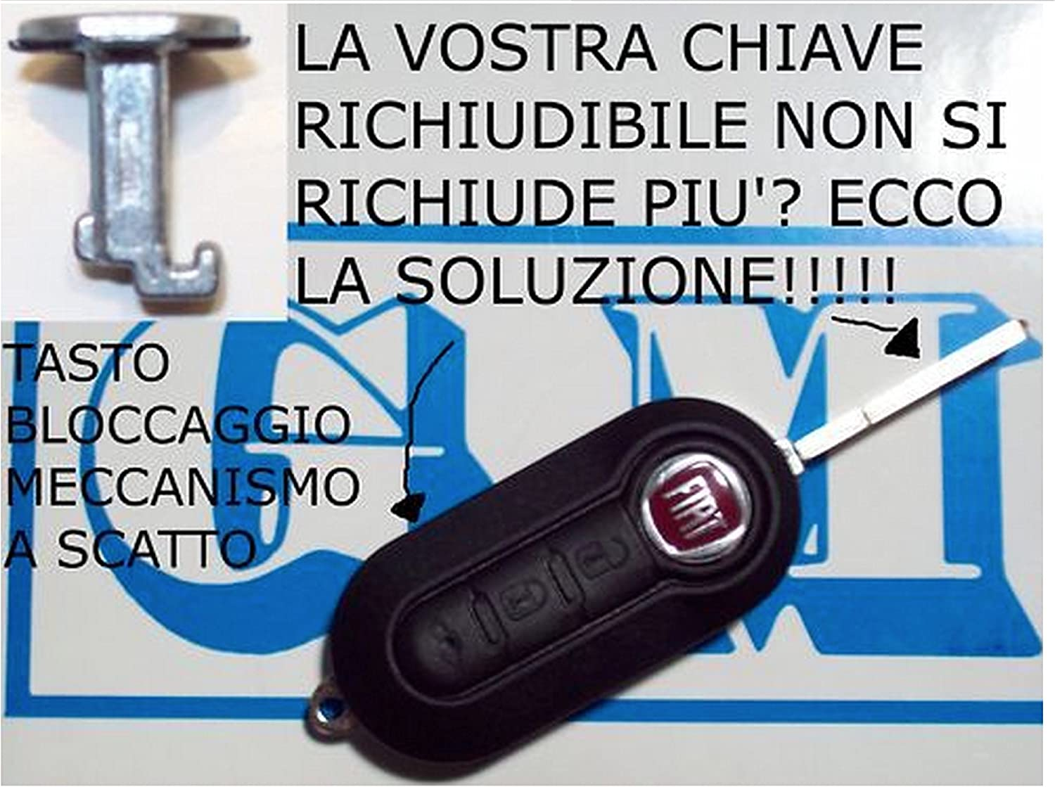 Production 1500 Replacement Key Cover with Buttons for Fiat//Lancia//Peugeot//Vauxhall Black check photo and compatibility details G.M