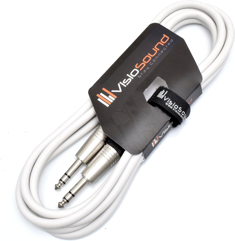 ~20 feet kenable Flexible Guitar Lead Green 6.35mm 1//4 inch Mono Male Plug Audio Cable 6m