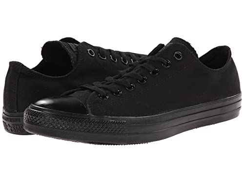 acdd7e041b6 Converse Chuck Taylor All Star Ox Monochrome Black(Size: 4 US Men's)