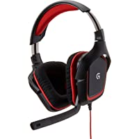 Logitech G230 Headset Stereo para Jogos, Preto