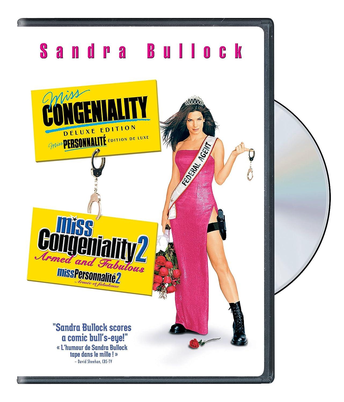 Amazon Com Miss Congeniality Miss Congeniality 2 Armed Fabulous Sandra Bullock Michael Caine Benjamin Bratt Regina King Enrique Murciano John Pasquin Donald Petrie Movies Tv