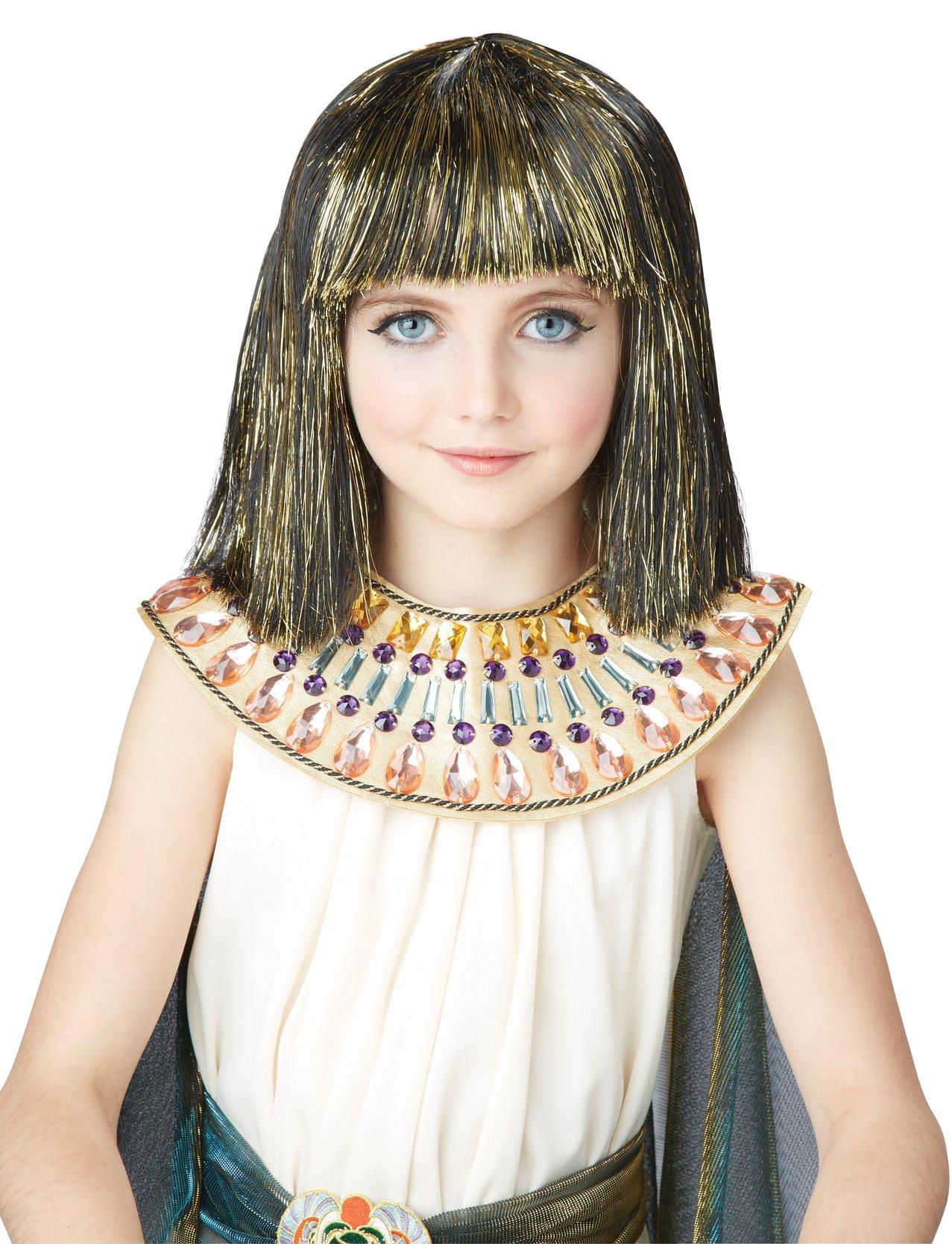 California Costumes Egyptian Child Costume Wig