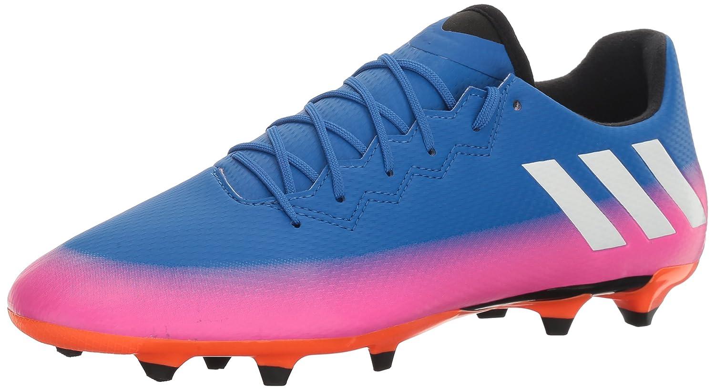 Adidas Originals Men's Messi 16.3 FG Soccer Schuhe, Blau Weiß Warning, (10.5 M US)