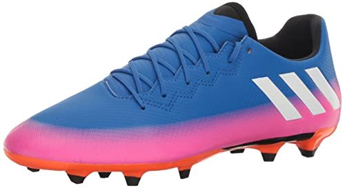 huge selection of 7e157 7b333 adidas Men s Messi 16.3 FG Soccer Shoe, Blue White Warning, (9