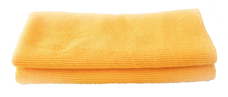 Poseidon台所用品マイクロファイバーDishcloths、長持ち、スーパー吸収性、Great for Kitchens、乾燥、車、Dusting、洗濯、40 x 40、5のセット オレンジ B07767BZLF オレンジ オレンジ