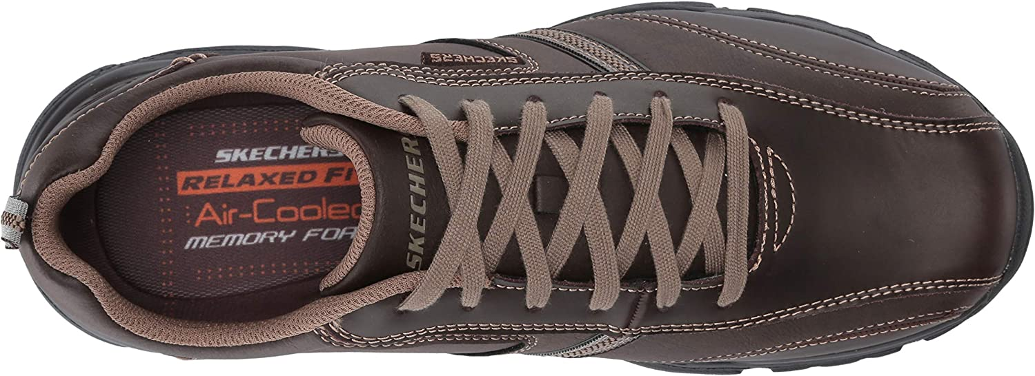 Skechers Men/'s Relaxed Fit-Rovato-Larion Oxford Choose SZ//Color