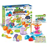 Learning Resources Beaker Creatures Alien Experiment Lab, Homeschool Activity, Science Exploration, 18 Piece Set, Ages 5+