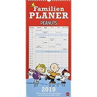Peanuts Familienplaner - Kalender 2019