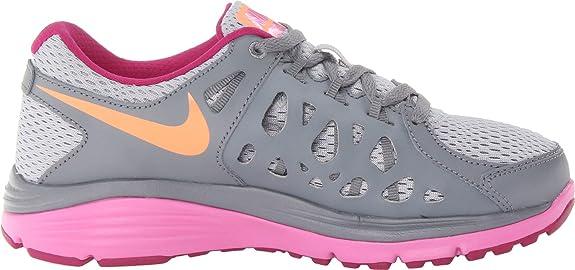 Nike Women's Dual Fusion Run 2 Wolf Grey/Cool Grey/Red Violet/Atomic Orange  Sneaker 11.5 B (M): Amazon.ca: Shoes & Handbags