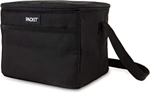 PackIt Fully Freezable Everyday Lunch Box Cooler, Black