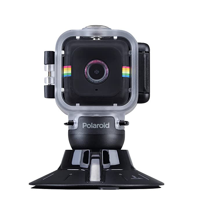 Polaroid Cube - Kit de Carcasa acuática y Ventosa sujeción