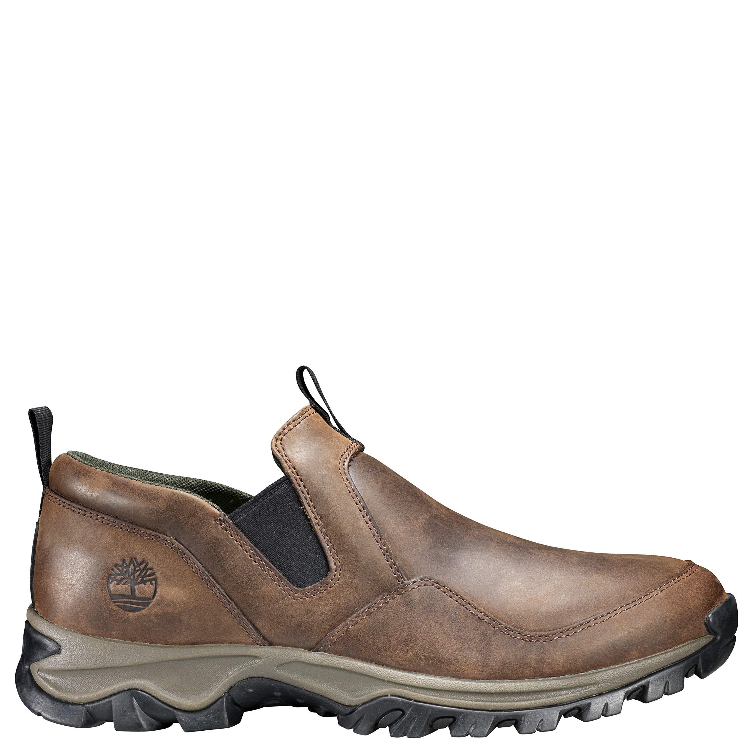 Timberland Men's Mt. Maddsen Slip On Hiking Shoe, Dark Brown, 10 Medium US